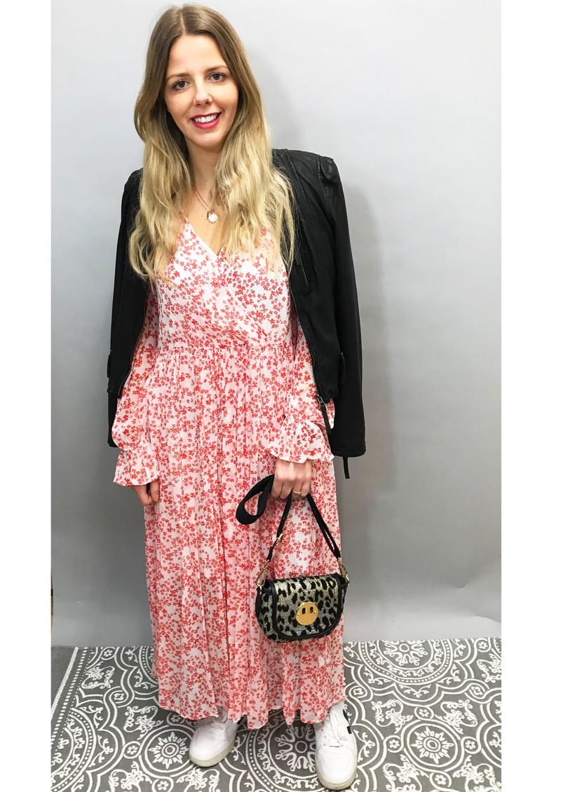 BAUM UND PFERDGARTEN Axelle Dress - Cream Ditsy main image