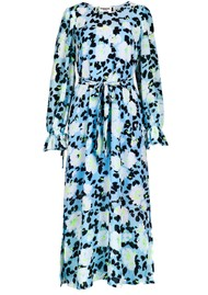 ESSENTIEL ANTWERP Vekken Floral Printed Midi Dress - Trinidad