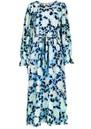 ESSENTIEL ANTWERP Vekken Floral Printed Midi Dress - Trinidad