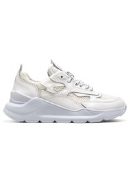 D.A.T.E Fuga Running Trainer - Patent White