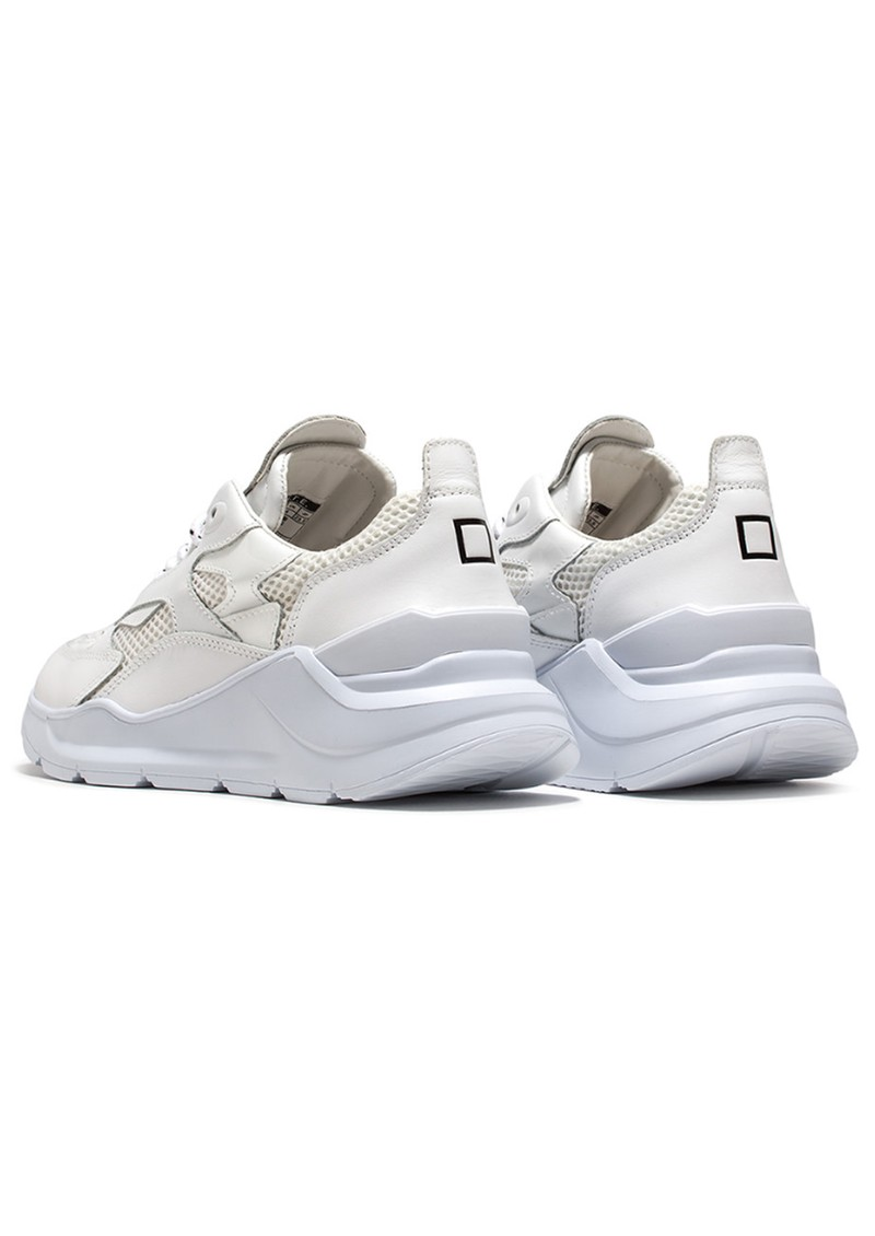 D.A.T.E Fuga Running Trainer - Patent White main image