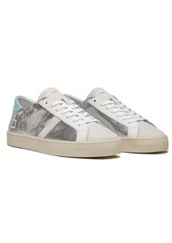 D.A.T.E Hill Low Trainers - Roof Silver