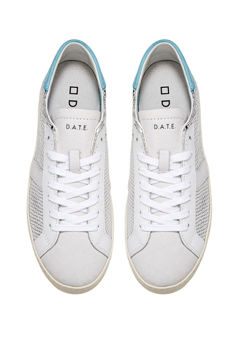 D.A.T.E Hill Low Trainers - Roof Silver main image