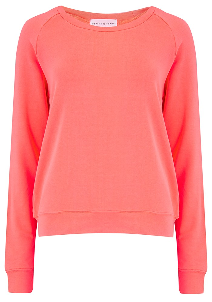 STRIPE & STARE Original Sweatshirt - Orange main image