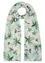 Lily and Lionel Palm Springs Silk Mix Scarf - Multi