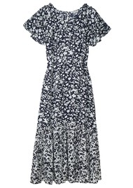 Lily and Lionel Rae Dress - Blossom Navy