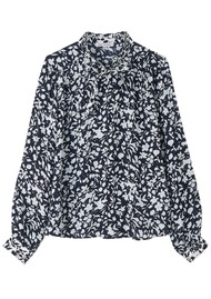 Lily and Lionel Devon Shirt - Blossom Navy