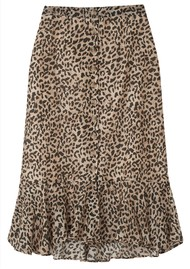 Lily and Lionel Jackie Silk Mix Skirt - Vintage Animal