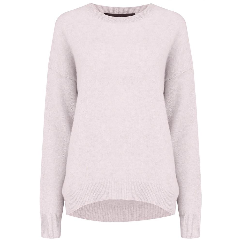 Brenna Cashmere Sweater - Tutu Pink