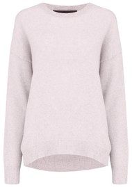 360 SWEATER Brenna Cashmere Sweater - Tutu Pink