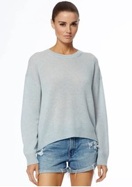 360 SWEATER Brenna Cashmere Sweater - Seafoam