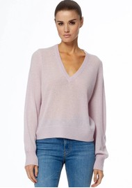 360 SWEATER Nixie Cashmere Sweater - Mallow