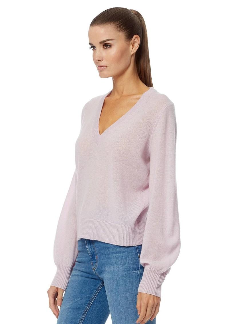 360 SWEATER Nixie Cashmere Sweater - Mallow main image