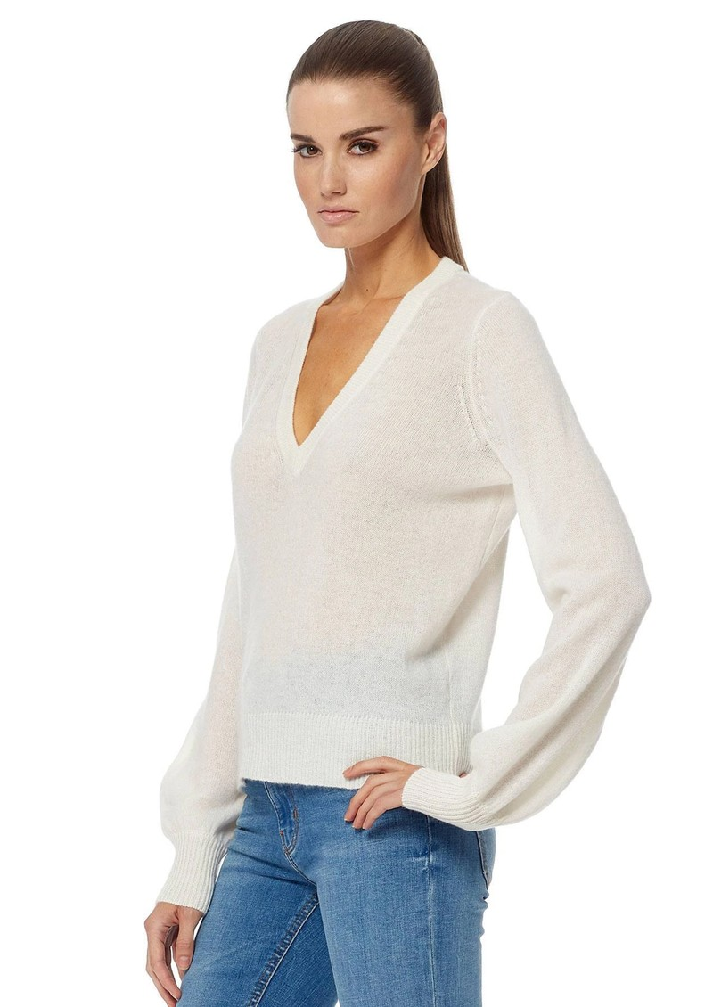 360 SWEATER Nixie Cashmere Sweater - Off White main image