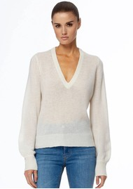 360 SWEATER Nixie Cashmere Sweater - Off White