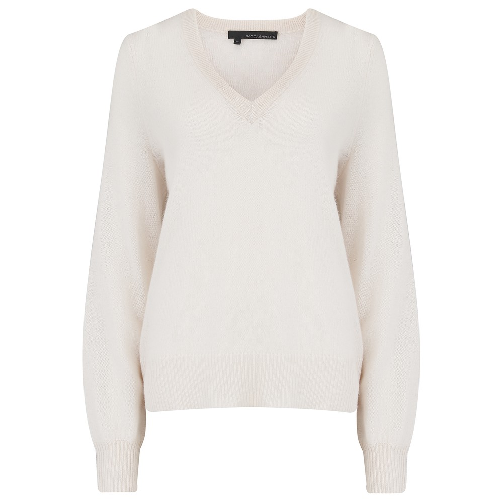 Nixie Cashmere Sweater - Off White
