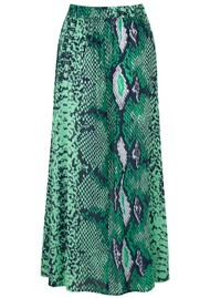 Mercy Delta Moulton Midi Skirt - Python Jungle