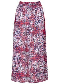Mercy Delta Moulton Midi Skirt - Cheetah Wild
