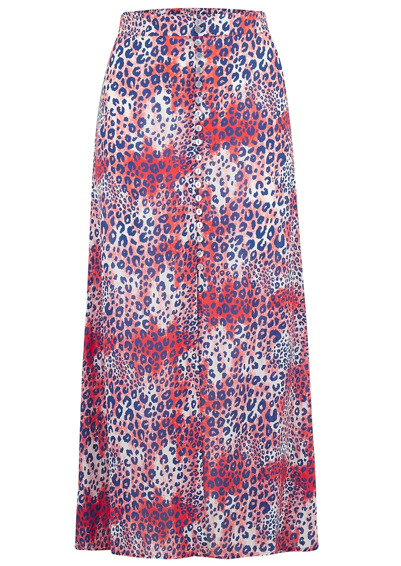 Mercy Delta Moulton Midi Skirt - Cheetah Wild main image