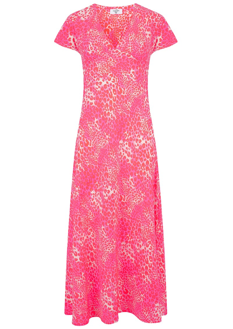 Mercy Delta Stewart Silk Dress - Cheetah Mermaid main image