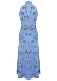 Mercy Delta Penrose Silk Dress - Leopard Star Sea