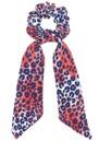 Mercy Delta Silk Printed Scrunchie - Cheetah Wild
