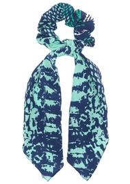 Mercy Delta Silk Printed Scrunchie -  Python Jungle