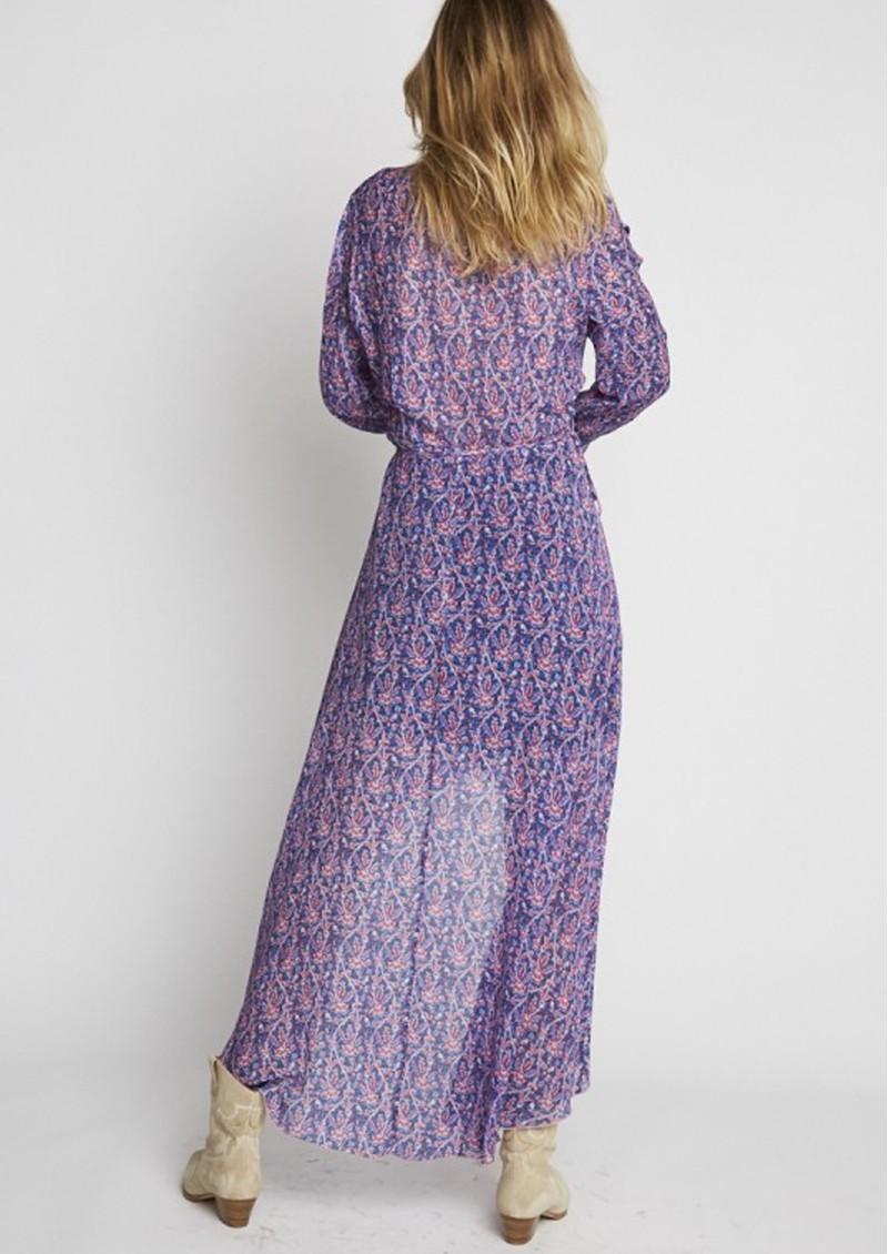BERENICE River Silk Mix Printed Dress - Bal Harbour main image
