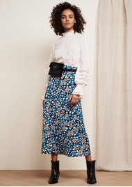 FABIENNE CHAPOT Claire Printed Skirt - Leopard Blossom