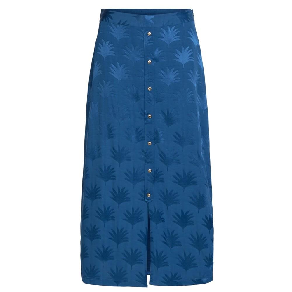 Jacky Skirt - Fan Blue