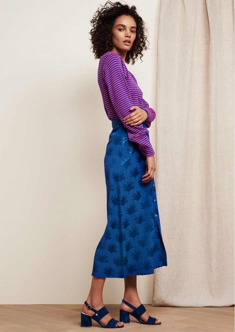FABIENNE CHAPOT Jacky Skirt - Fan Blue main image
