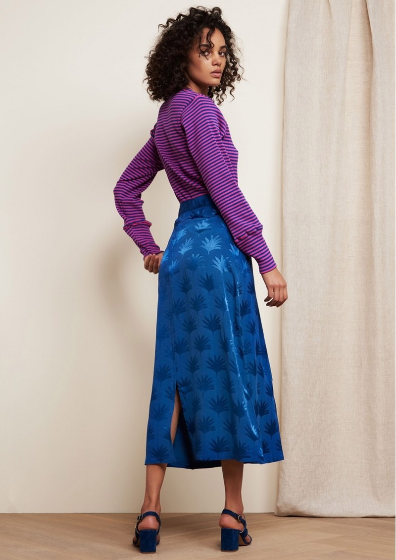 Jacky Skirt - Fan Blue main image