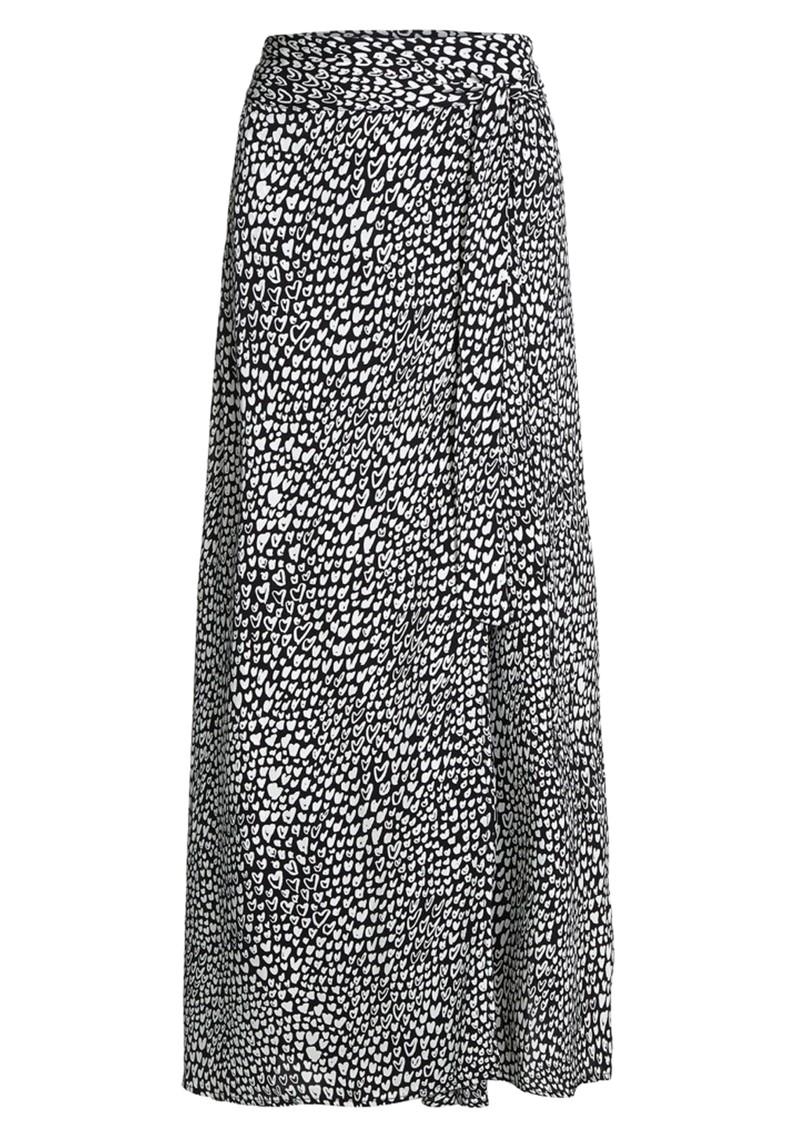 FABIENNE CHAPOT Bobo Printed Wrap Skirt - Lovely Love main image