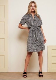 FABIENNE CHAPOT Boyfriend Printed Shirt Dress - Lovely Love