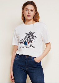 FABIENNE CHAPOT Eric Cotton Tee - Off White
