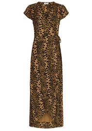 FABIENNE CHAPOT Archana Wrap Dress - Retro Panther