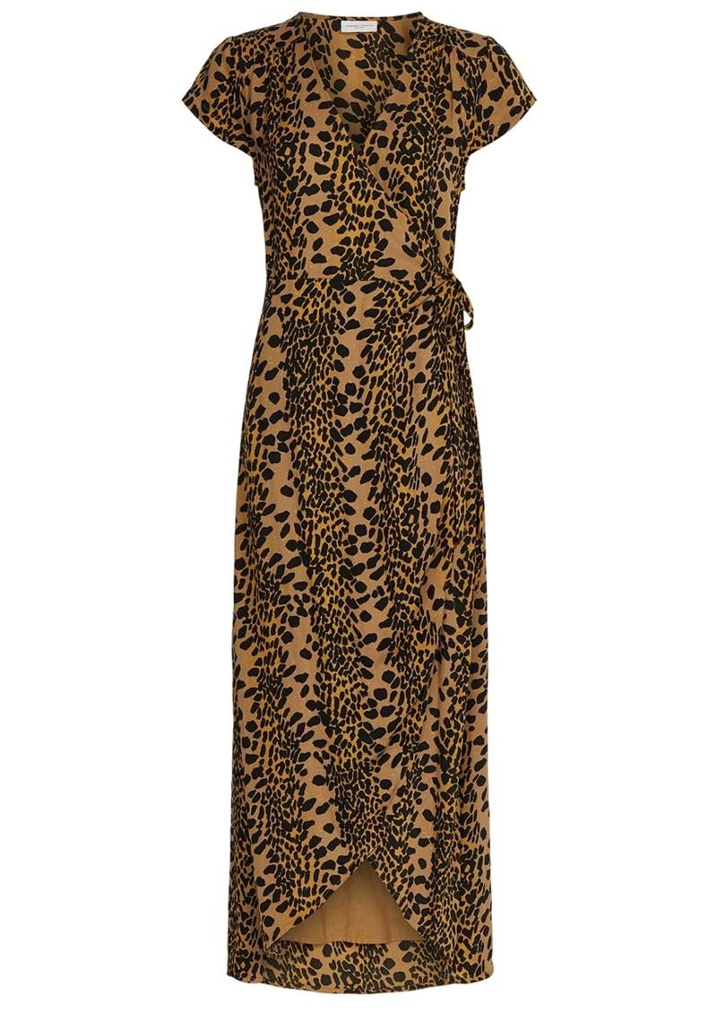 FABIENNE CHAPOT Archana Wrap Dress - Retro Panther  main image