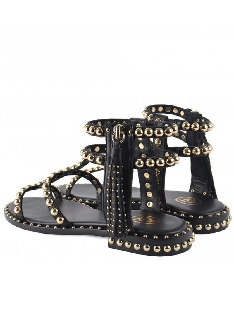 Ash Power Studded Sandal - Black main image