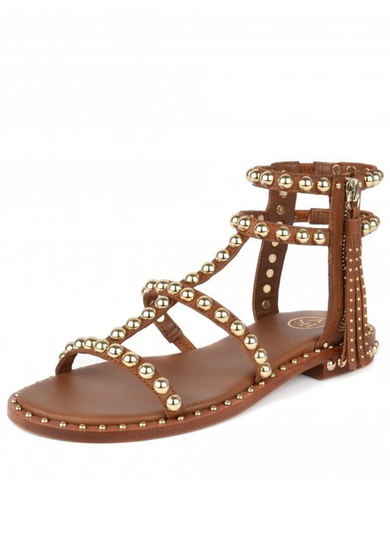 Ash Power Studded Sandal - Cuoio main image