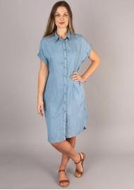 NOOKI Regan Shirt Dress - Blue