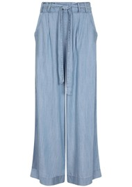 NOOKI Stella Wide Leg Trouser - Blue
