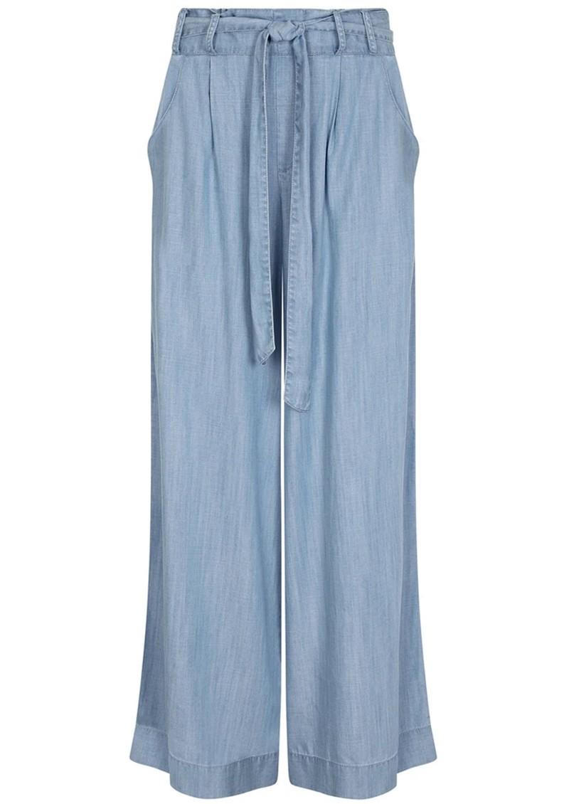 NOOKI Stella Wide Leg Trouser - Blue main image