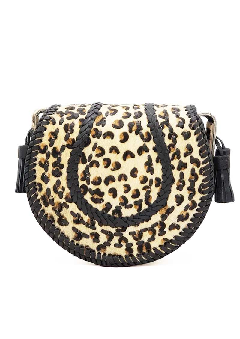 NOOKI D'Souza Cross Body Bag - Leopard main image