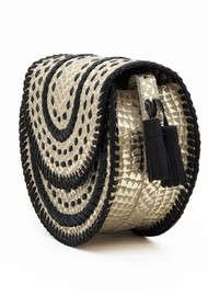 NOOKI D'Souza Cross Body Bag - Gold Snake