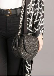 NOOKI D'Souza Cross Body Bag - Black Snake