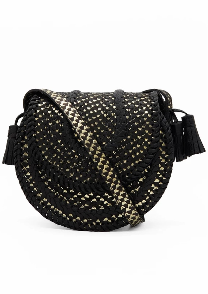 NOOKI D'Souza Cross Body Bag - Black Snake main image