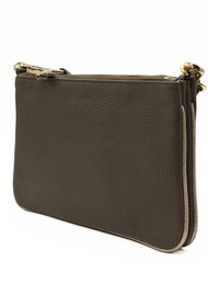NOOKI Casey Clutch Bag - Khaki