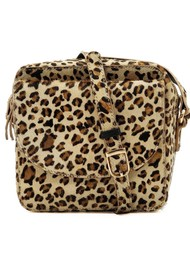 NOOKI Cosmo Square Cross Body Bag - Leopard