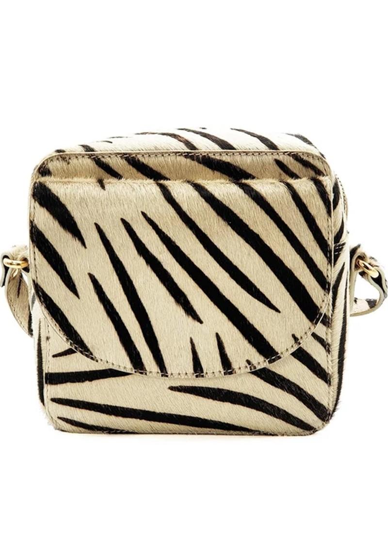NOOKI Cosmo Square Cross Body Bag - Zebra main image