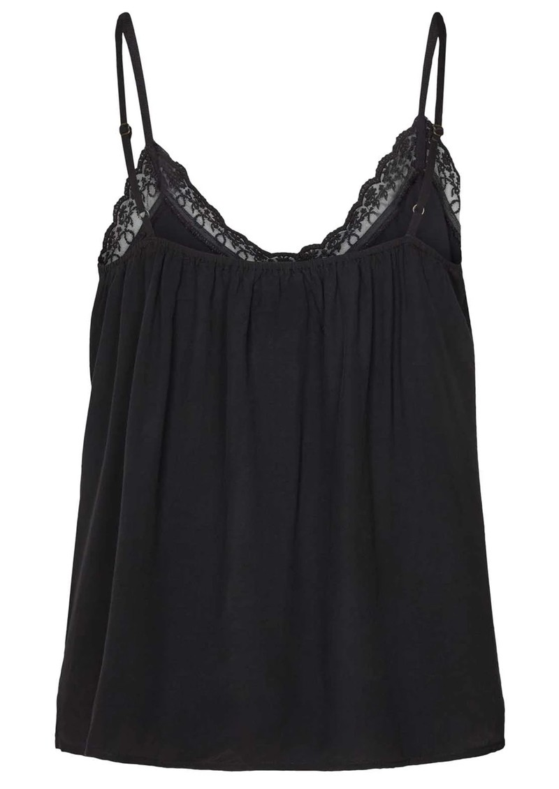 LOLLYS LAUNDRY Bea Cami Top - Washed Black  main image